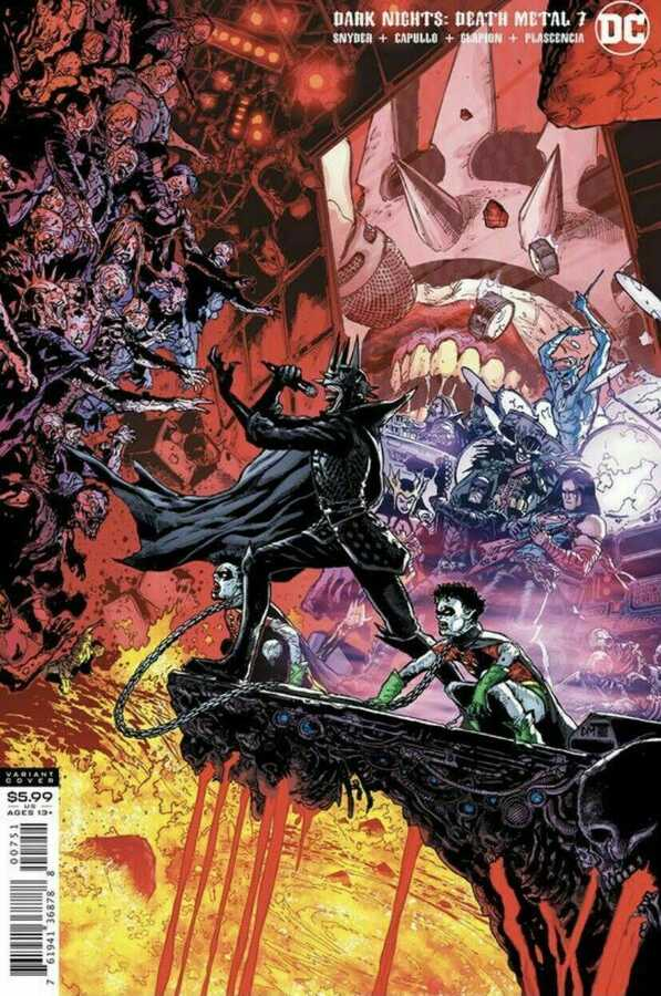 DC - Dark Nights Death Metal # 7 1:25 Variant