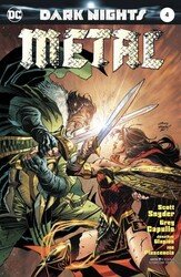 DC - Dark Nights Metal # 4 Andy Kubert Variant