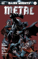DC - Dark Nights Metal # 4 Jim Lee Variant