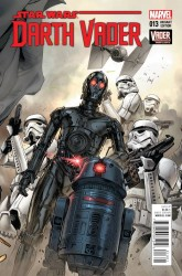 Marvel - Star Wars Darth Vader (2015) # 13 Mann Connecting Variant