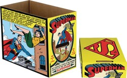 NECA - DC Superman Comic Panel Short Box- Kısa Çizgi Roman Kutusu