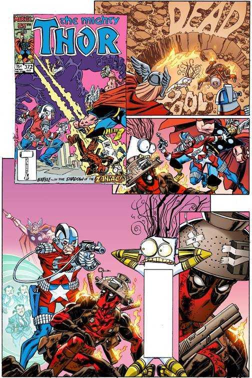 Marvel - Deadpool # 14 Secret Comic Variant