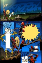 Marvel - Deadpool # 16 Secret Comic Variant