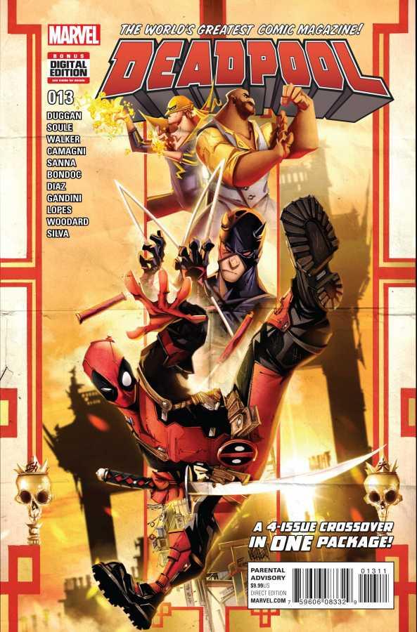 Marvel - Deadpool # 13