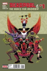 Marvel - Deadpool & The Mercs For Money (2. Seri) # 1