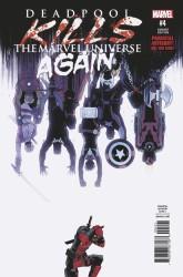 Marvel - Deadpool Kills Marvel Universe Again # 4 Shalvey Variant