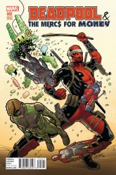 Marvel - Deadpool Mercs For Money # 2 (Vol 2) 1:25 Sliney Variant