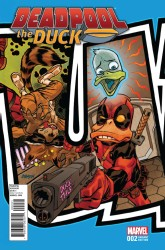 Marvel - Deadpool The Duck # 2 Johnson Connecting Variant