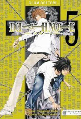 Death Note - Ölüm Defteri Cilt 5