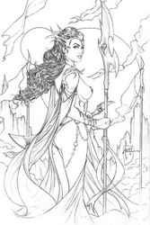 Dynamite - Dejah Thoris (2019) # 1 1:10 Tucci Pencil Variant
