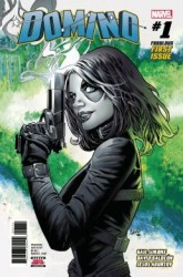 Marvel - DF Domino # 1 Greg Land İmzalı Sertifikalı