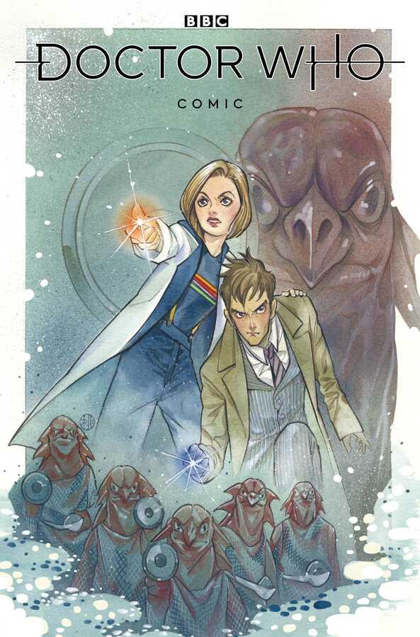 Titan Comics - DOCTOR WHO COMICS # 1 CVR A MOMOKO