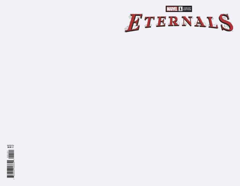 Marvel - Eternals # 1 Blank Variant
