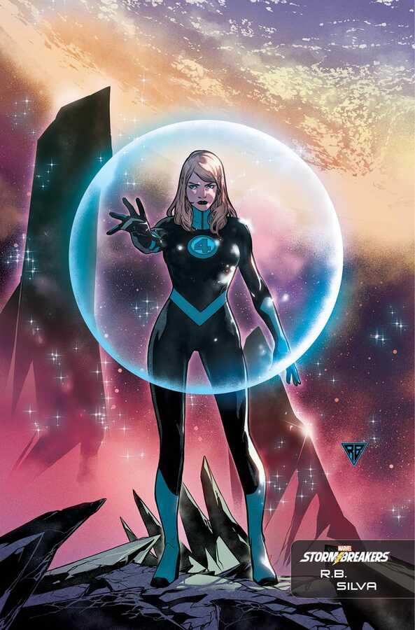 Marvel - Fantastic Four # 26 SILVA STORMBREAKERS VAR