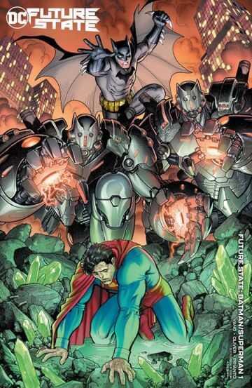 DC - FUTURE STATE BATMAN SUPERMAN # 1 (OF 2) CVR B ARTHUR ADAMS CARD STOCK VARIANT