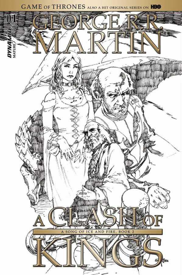 Dynamite - Game of Thrones Clash of Kings # 1 Rubi Sketch Variant