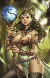 Zenescope - Grimm Fairy Tales # 112 C Cover Pantalena