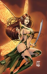 Zenescope - GFT Neverland Age Of Darkness # 1 C Cover Krome