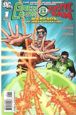 Green Lantern/Plastic Man: Weapons of Mass Deception # 1 (ONE SHOT)