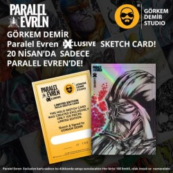 Diğer - Görkem Demir Paralel Evren Exclusive Holo Sketch Card Darth Vader