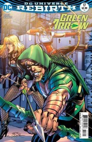 DC - Green Arrow # 17 Variant