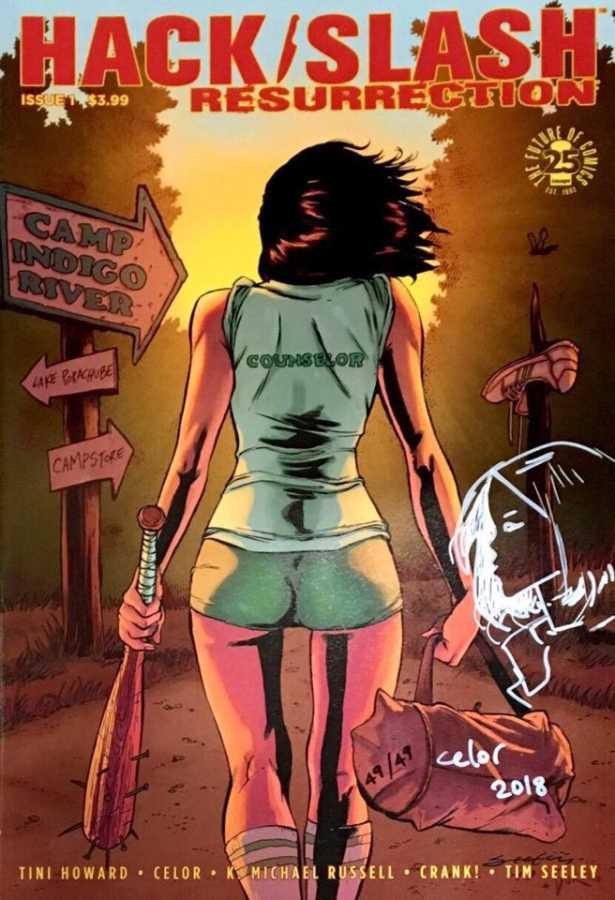 Image - Hack Slash Resurrection Celor (Celal Koç) Sketchli 49 Limitli Seritifkalı