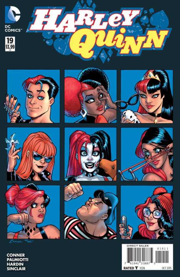 DC - Harley Quinn (New 52) # 19