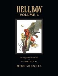 Dark Horse - Hellboy Library Edition Vol 3 Conqueror Worm and Strange Places HC
