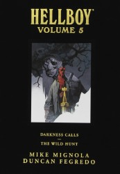 Dark Horse - Hellboy Library Edition Vol 5 Darkness Calls and The Wild Hunt HC