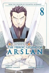 Kodansha - Heroic Legend Of Arslan Vol 8 TPB