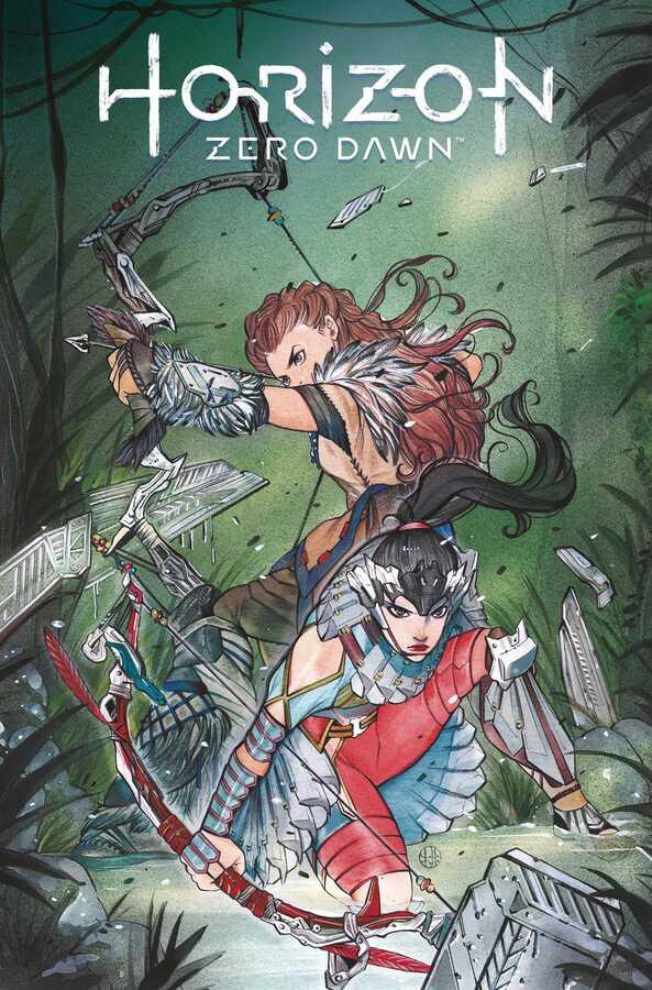 Titan Comics - Horizon Zero Dawn # 4 Peach Momoko Variant