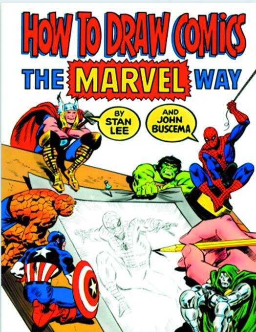 - How To Draw Comics The Marvel Way TPB