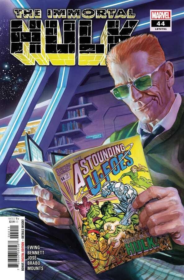 Marvel - IMMORTAL HULK # 44