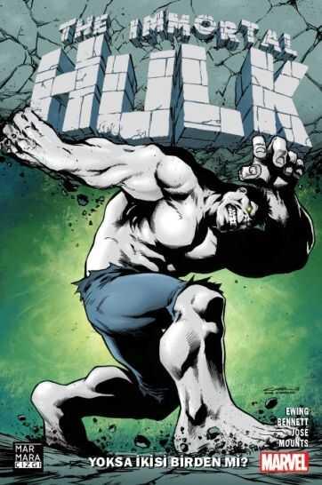 Marmara Çizgi - Immortal Hulk Cilt 1 Yoksa İkisi Birden Mi? Paralel Evren Exclusive Yıldıray Çınar Glow In The Dark Kapak