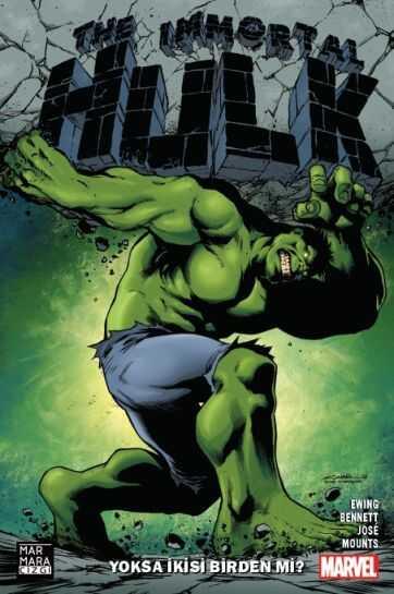 Marmara Çizgi - Immortal Hulk Cilt 1 Yoksa İkisi Birden Mi? Yıldıray Çınar Variant