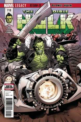 Marvel - Incredible Hulk # 710
