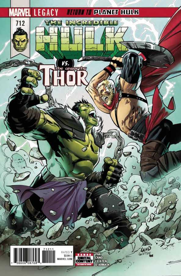 Marvel - Incredible Hulk # 712
