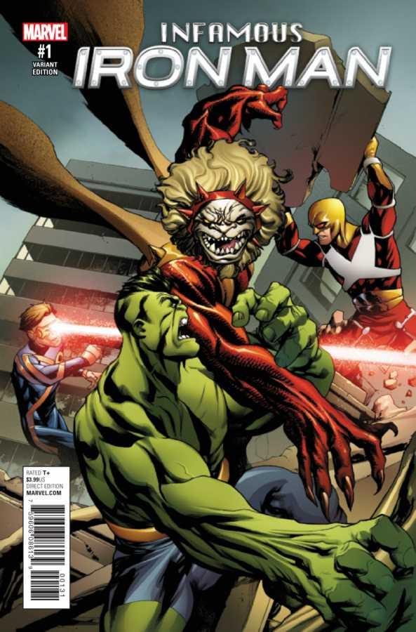 Marvel - Infamous Iron Man # 1 Champions Variant