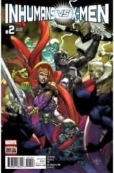 Marvel - Inhumans vs X-Men # 2 2nd Ptg