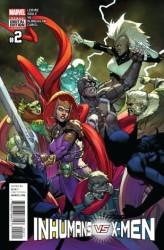Marvel - Inhumans vs X-Men # 2