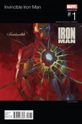 Marvel - Invincible Iron Man # 1 (2015) Hip Hop Variant