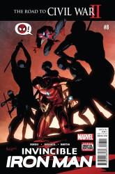 Marvel - Invincible Iron Man # 8 (2015)
