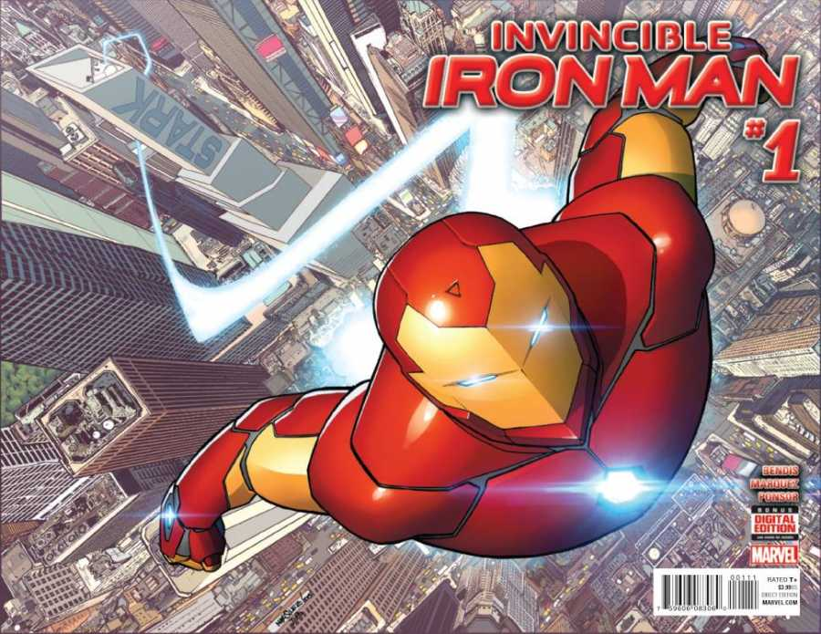Marvel - Invincible Iron Man # 1 (2015)
