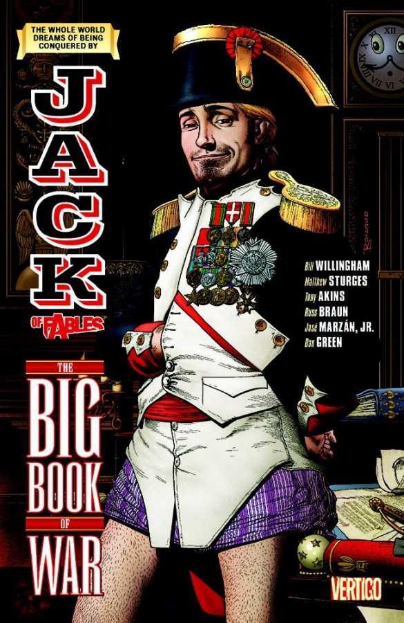 Vertigo - Jack of Fables Vol 6 The Big Book of War TPB