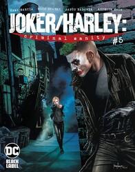 DC - Joker Harley Criminal Sanity # 5 Mico Suayan Variant