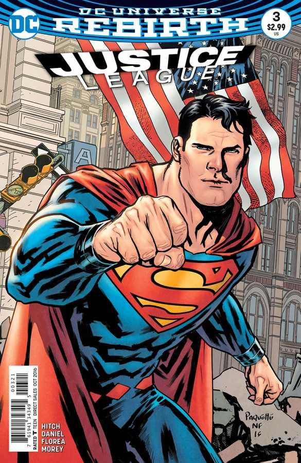DC - Justice League # 3 Variant