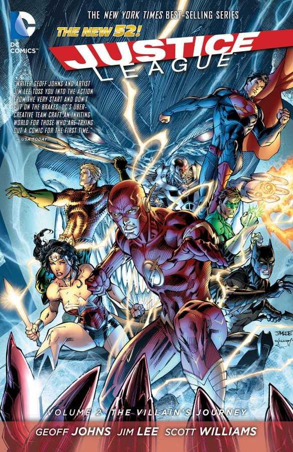 DC - Justice League (New 52) Vol 2 The Villains Journey TPB