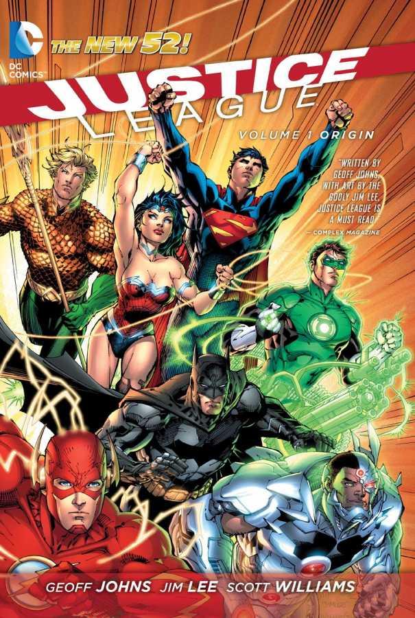 DC - Justice League (New 52) Vol 1 Origin TPB