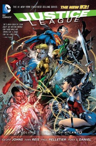 DC - Justice League (New 52) Vol 3 Throne of Atlantis TPB