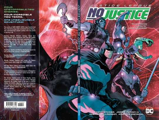 DC - Justice League No Justice TPB